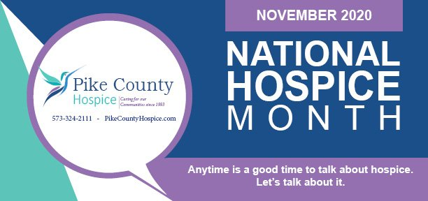 National Hospice Month 2020